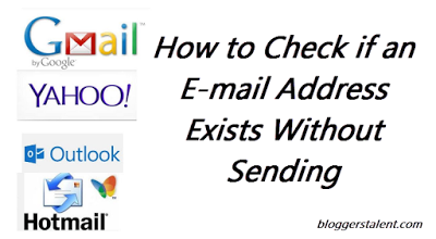 Check if an E-mail Address Exists Without Sending