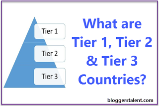 What are Tier 1 Tier 2 & Tier 3 Countries