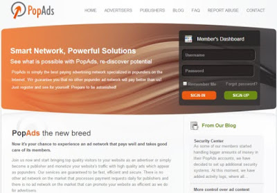 Popads.net Review- Best, Trusted and Highly Paying Popunder network